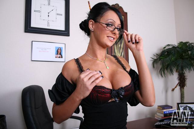 Big tits at wpork