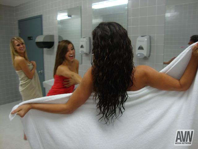 Did college dare dorm shower mine