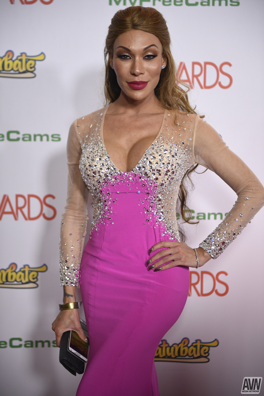 ALLIE HAZE at 2015 AVN Awards in Las Vegas - HawtCelebs