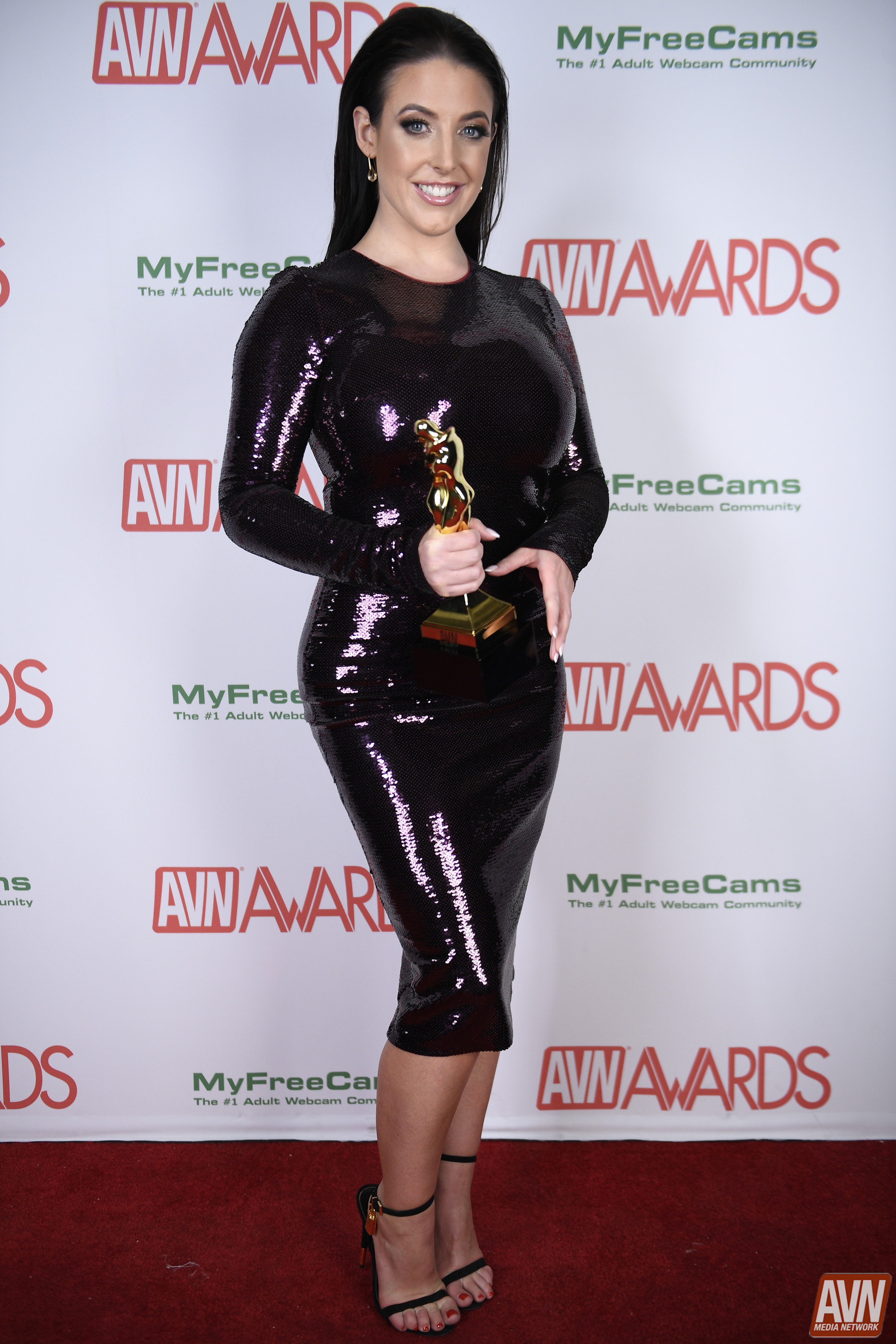 ANGELA WHITE at AVN Adult Entertainment Expo 2020 in Las