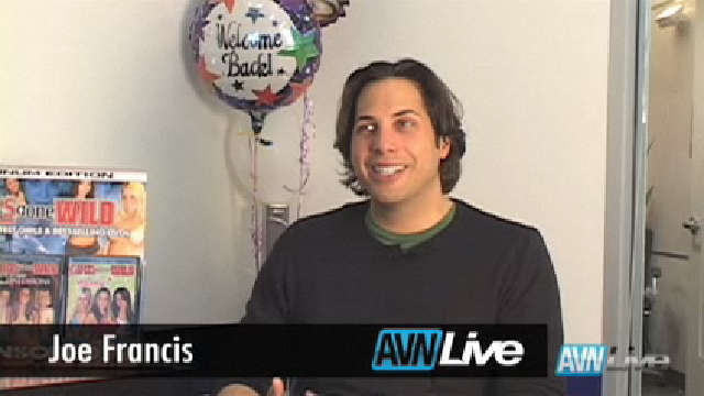 Joe Francis Talks Exclusively to AVNLive
