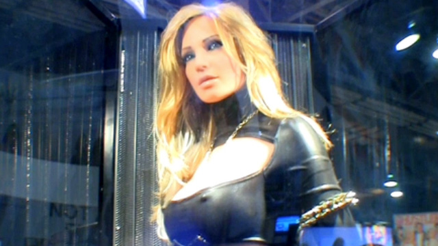 Jessica Drake Meets Her Wicked Real Doll