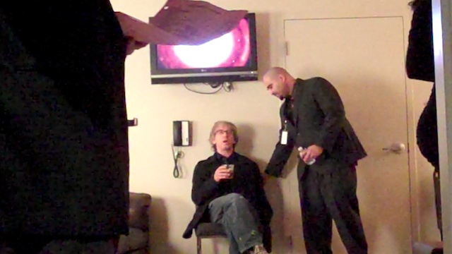 Andy Dick Backstage at AVN Awards (VIDEO)