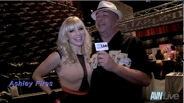 Ashley Fires interview at Exxxotica Atlantic City 2013