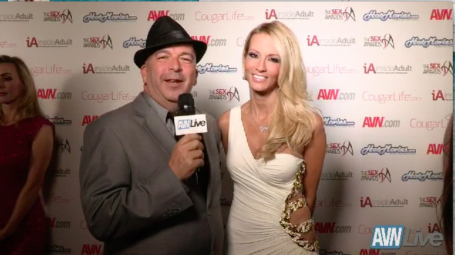 Jessica Drake on the red carpet at The Sex Awards 2013