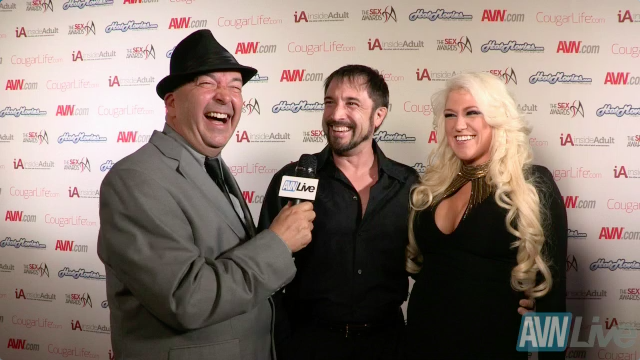 Miles Long and Nikki Phoenix at the 2013 Sex Awards