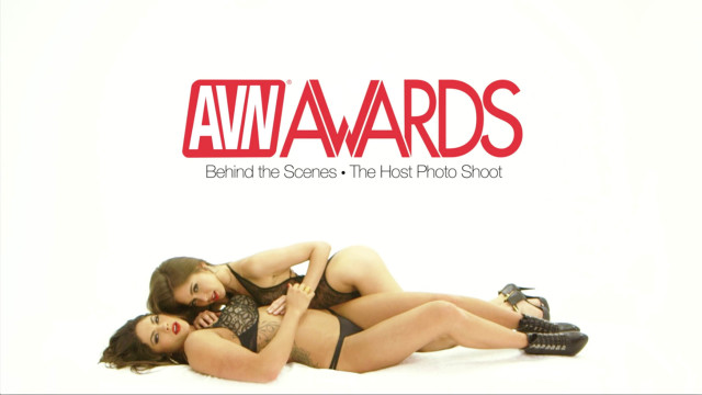 Behind the Scenes at the AVN Awards Photo Shoot